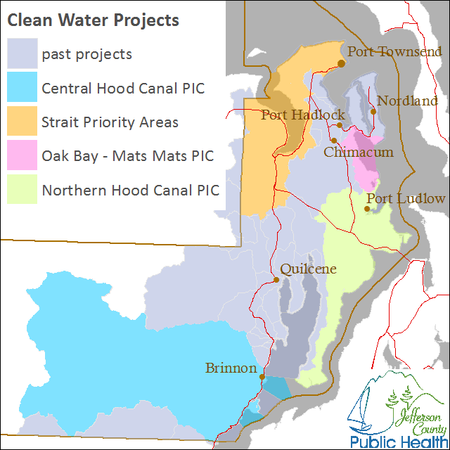 water quality projects map